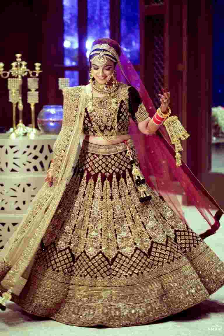 Wear The Most Exquisite Lehenga on Your Wedding Day!!