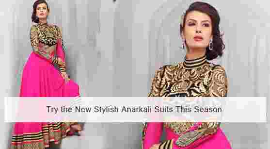 Dazzle The Evening Away With The New Prepossessing Designer Salwar Suits