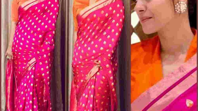 The Unfading Glory oF Indian Sarees Stays Strong