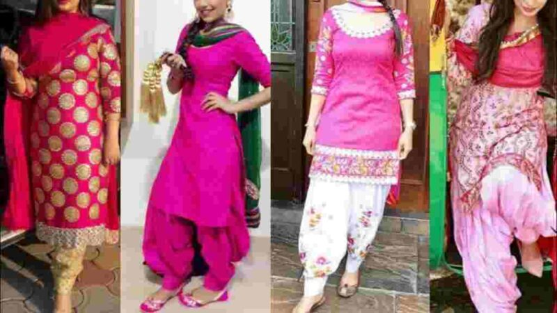 Come Fall in Love With Long Straight Salwar Suits