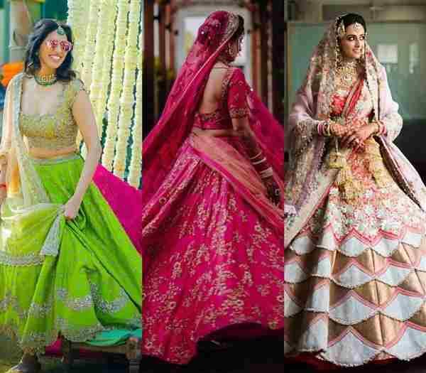 buy wedding lehengas for women