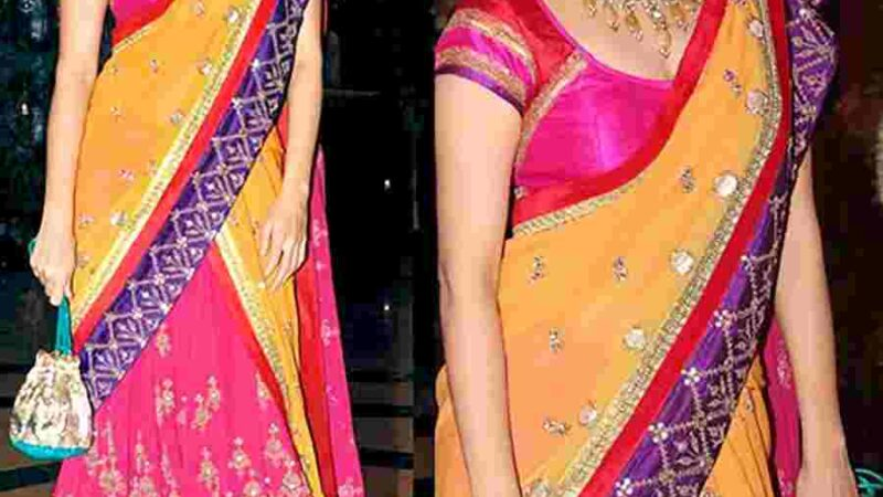 Different Styles of Draping a Dupatta